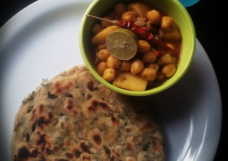 Drumstick leaves paratha a healthy dish