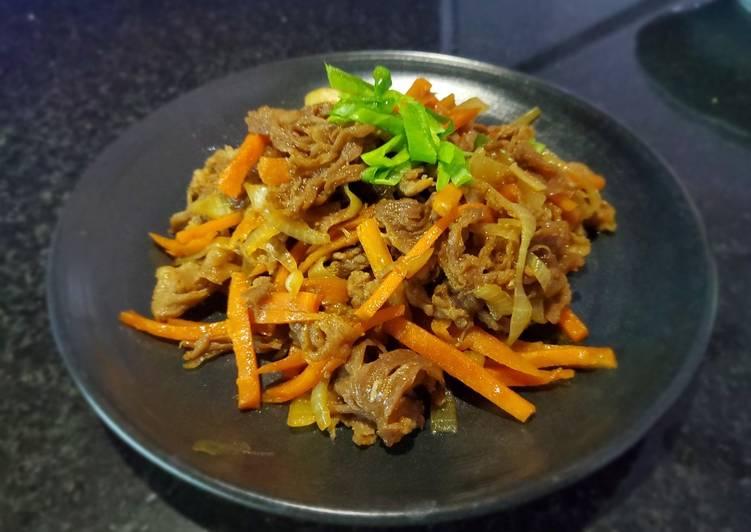 Beef Bulgogi Simple
