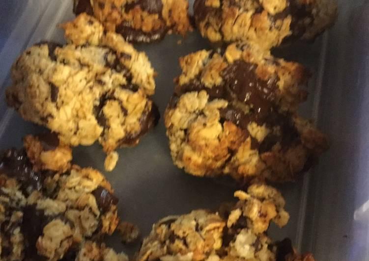 Recipe of Award-winning Choc chip cookies