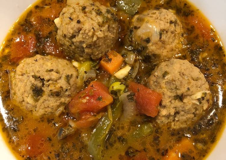 Quick Meatball Soup
