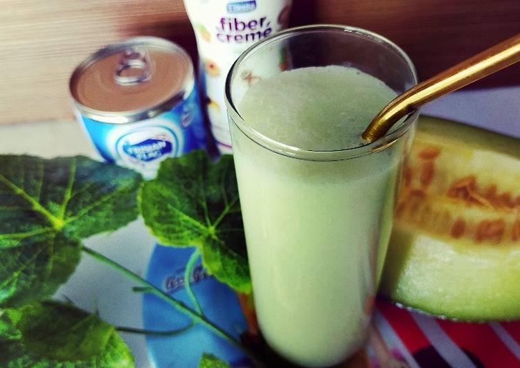 Juice melon sederhana