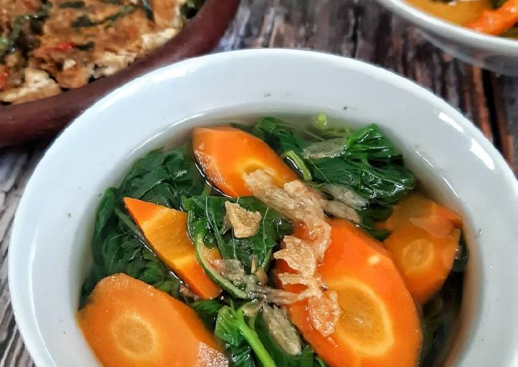 sayur-bening-bayam-wortel
