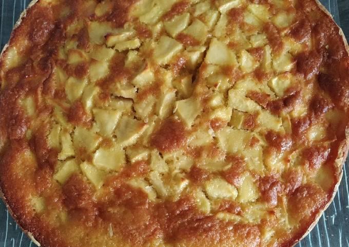 Gâteau aux pommes facile et moelleux.👩🍳