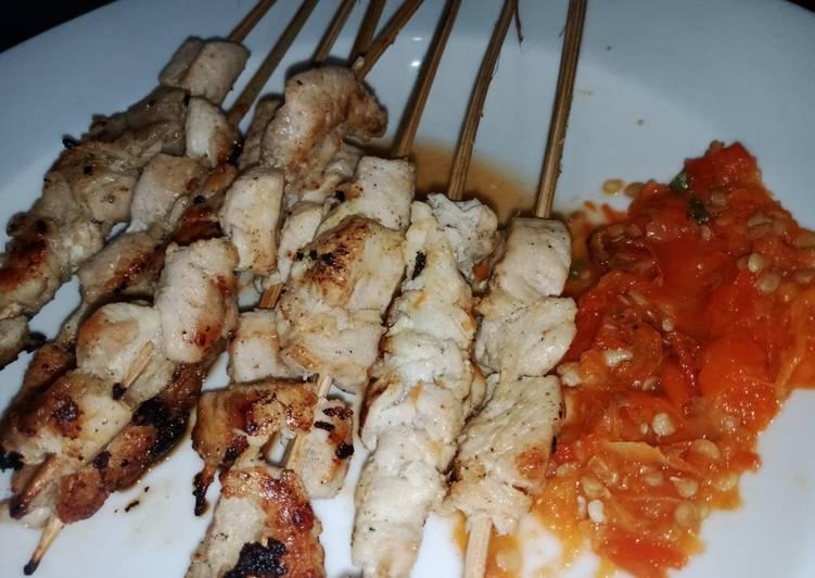 Sate Taichan Homemade