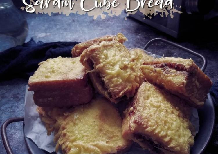 Sardin cube bread