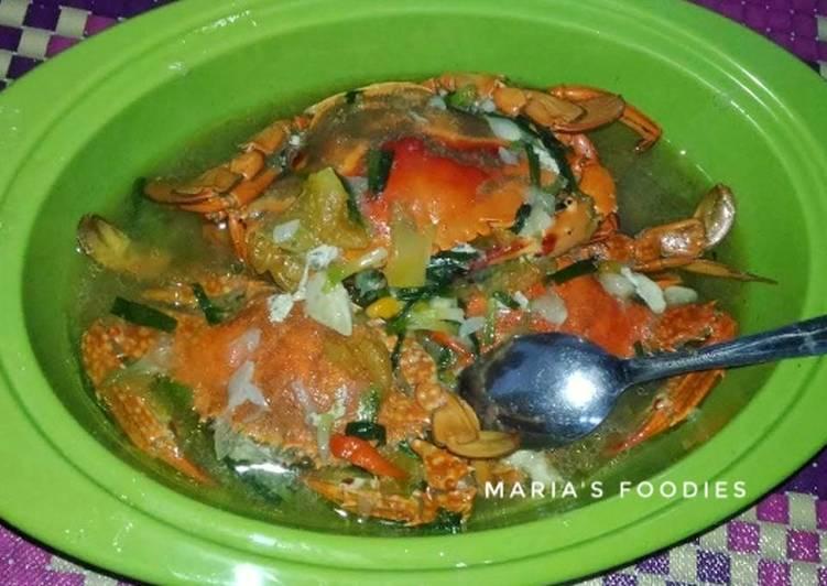 Singang kepiting khas Sumbawa