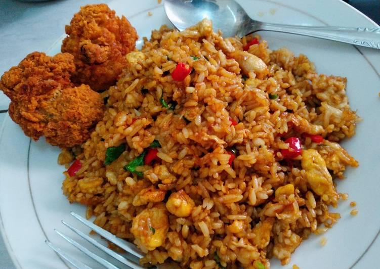 Resep Nasi Goreng Minyak Wijen Daun Jeruk Oleh Irene Mutiya Cookpad
