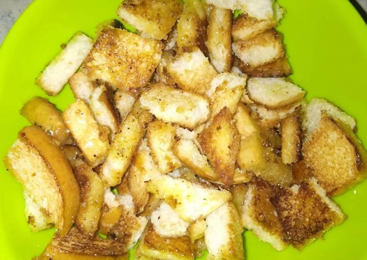 Resep Resep pop corn roti Terbaik