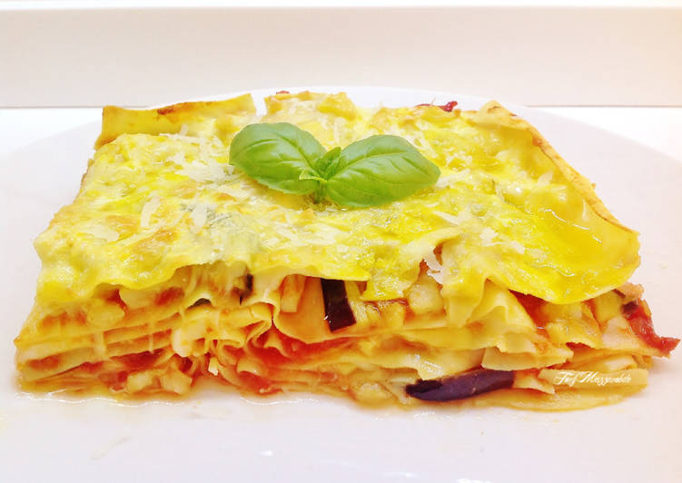 Easiest Way to Cook Appetizing Lasagne al forno con melanzane senza besciamelle