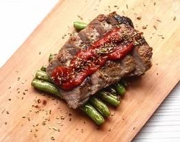[Masakan Barat] Steak Tuna 5 Bahan Irit Dompet