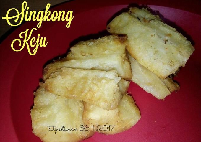 Singkong Keju(Singkong goreng)