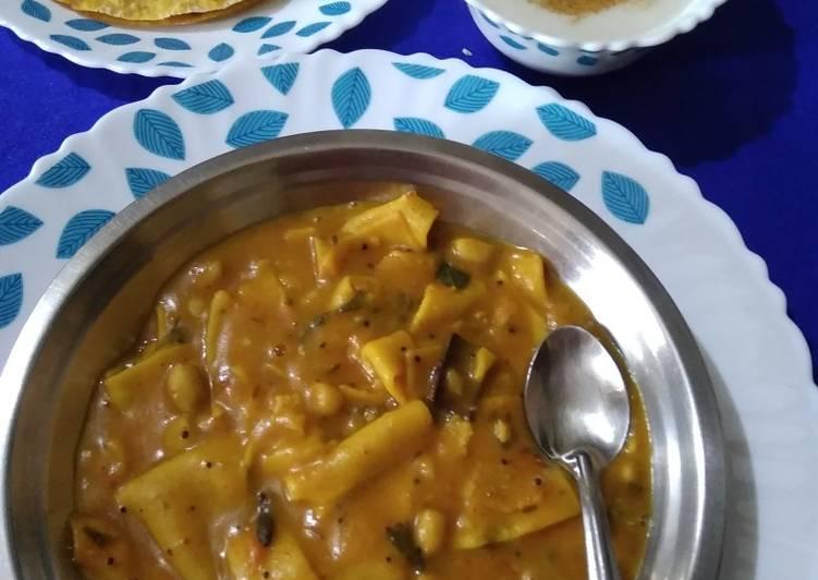 Recipe: Appetizing Dal Dhhokali