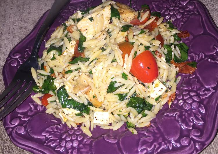 Easiest Way to Make Delicious Orzo Chicken Pasta