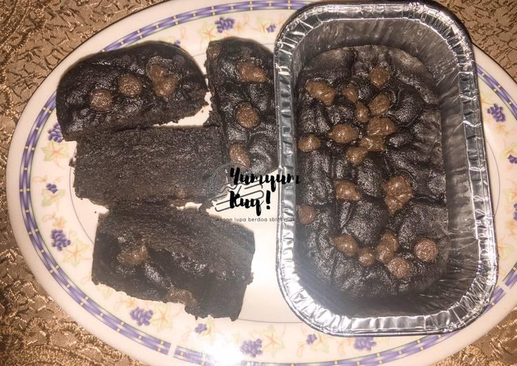 Fudgy Brownies Steam ✨ (No Mixer, No Oven)