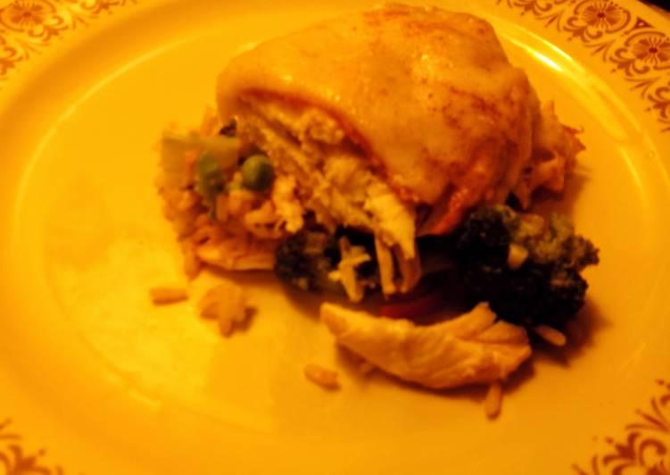 Chicken Cordon Blue Casserole