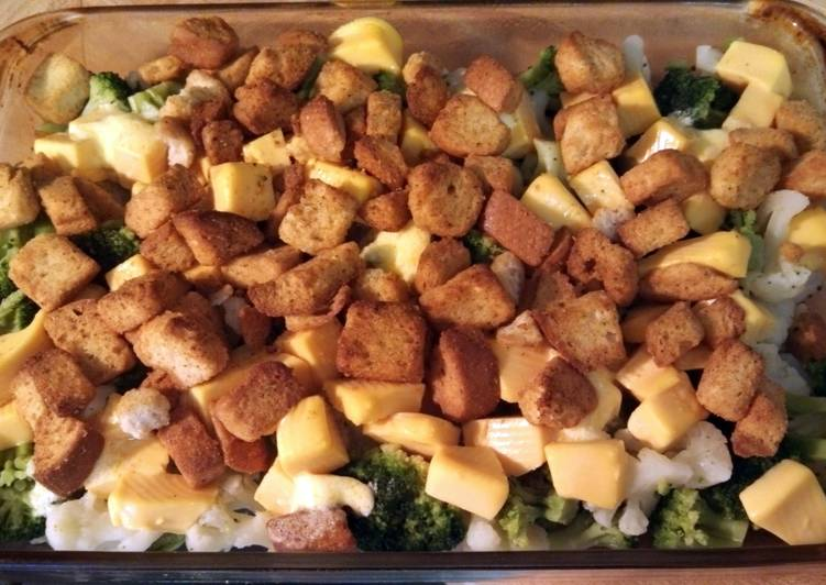 Tl S Broccoli And Cauliflower Quick Casserole Recipe By Terilynn Kelly 3 Cookpad Kenya