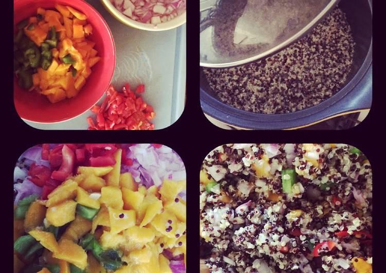 Simple Way to Prepare Homemade Quinoa salvaje