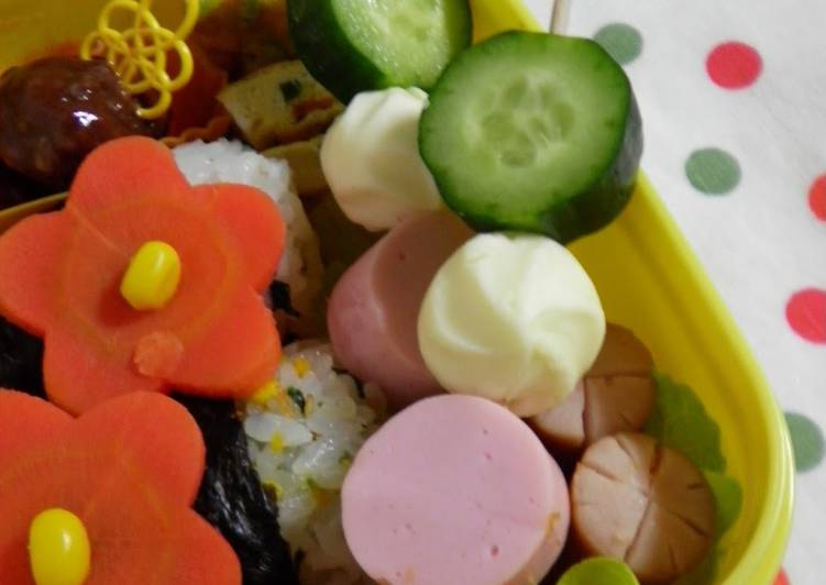 """Discover How to Elevate Your Mood with Food Tri-Colored """"Dumplings"""" for Bento"""