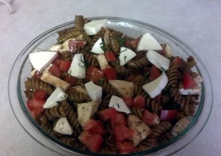 balsamic pasta salad