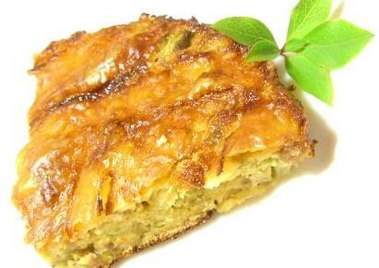 Okara and Cabbage Quiche - Laurie G Edwards