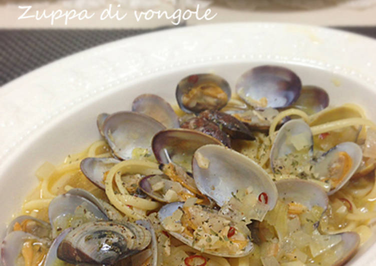 Step-by-Step Guide to Make Favorite Soup-Style Clam Vongole