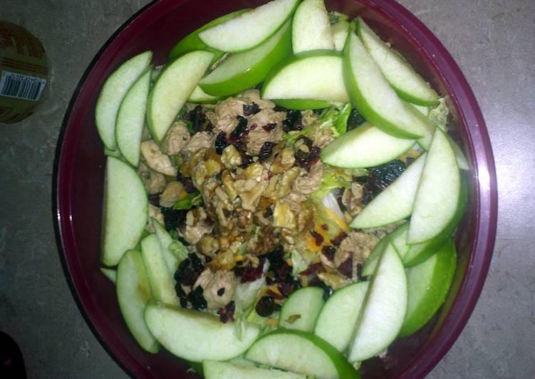 Recipe: Yummy Apple pecan chicken salad