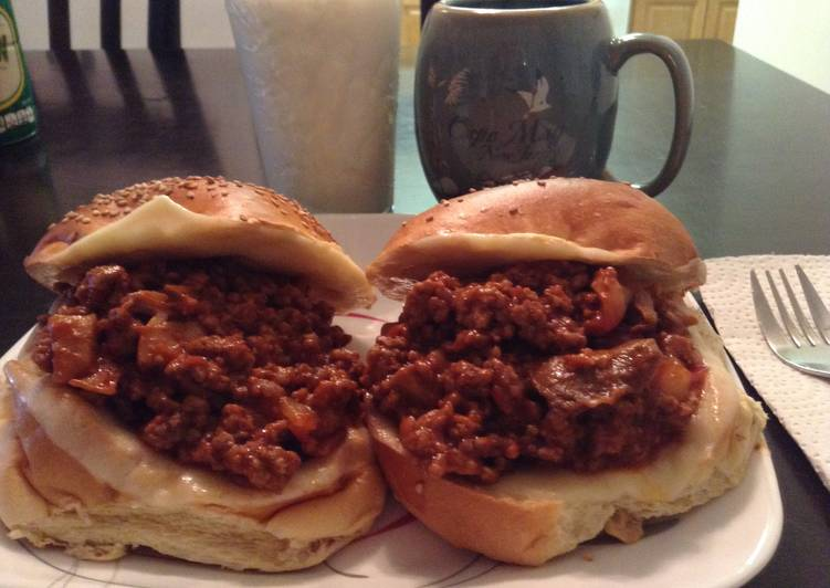 Recipe of Speedy Wifey Sloppy Joes