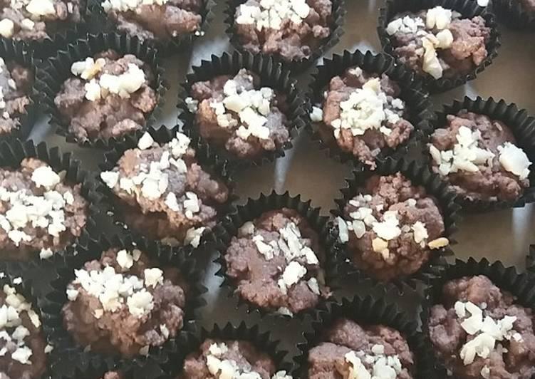 Cookies coklat kenari