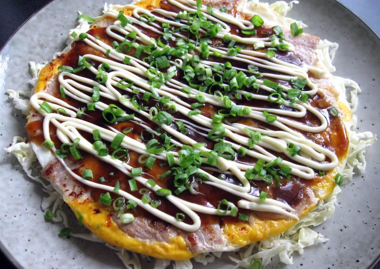 Recipe of Homemade Tonpeiyaki