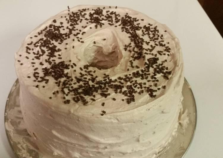 Mocha Angel Cake