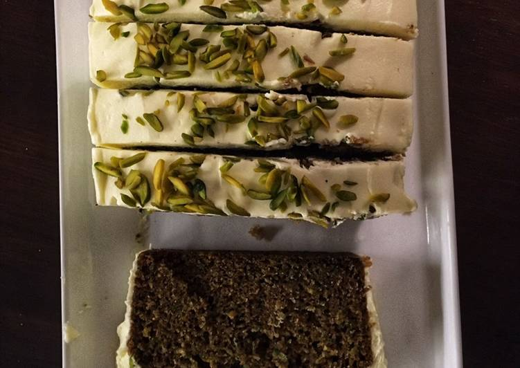 How to Make Most Popular Courgette Lime cake