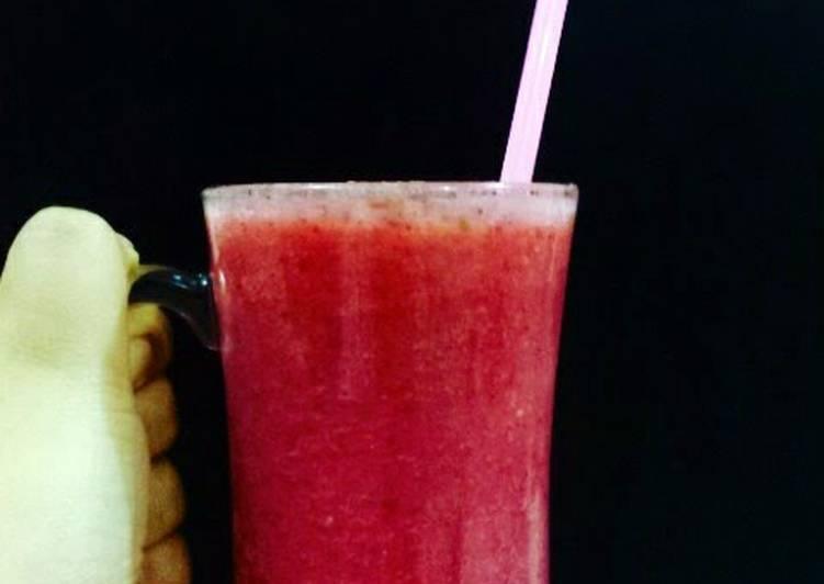 Recipe of Quick Red Juice