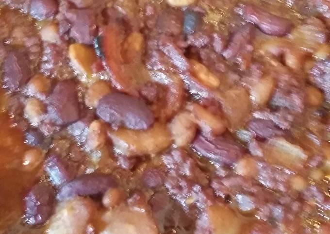 Ol' Settler ' Baked Beans