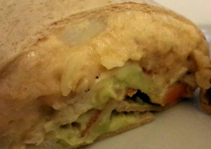 Chicken and Potato Burrito
