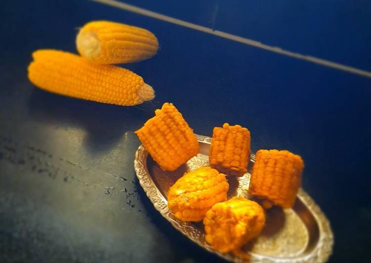 Masala corn cob