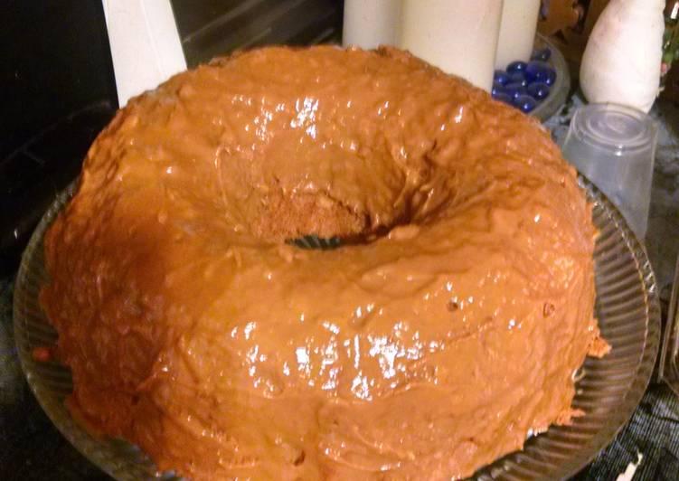 Easy caramel cake