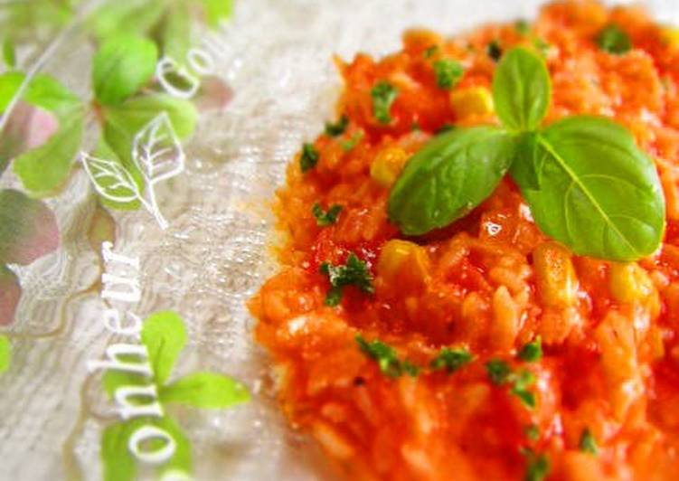 Easy Lunch in 10 Minutes - Summery Tomato Risotto, Heart Friendly Foods You Should Eat