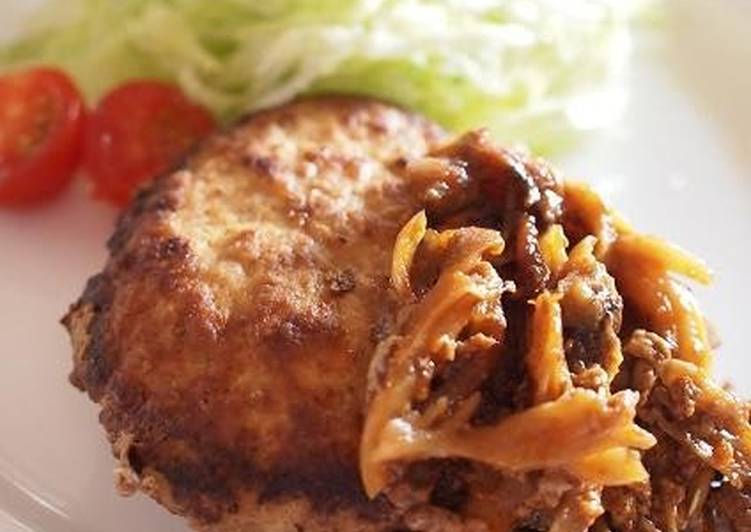 Simmered Tofu Hamburger Patties