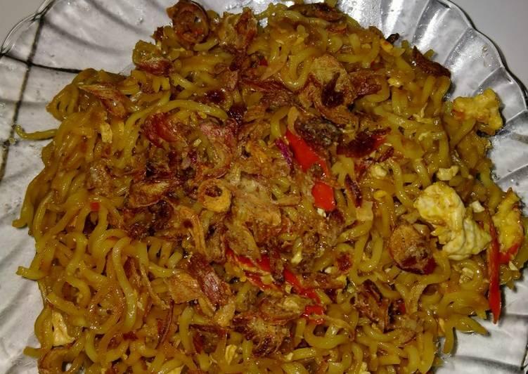Resep Indomie goreng Paling Mudah
