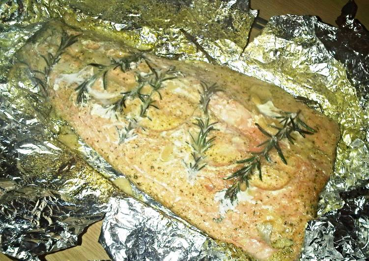 Easiest Way to Prepare Perfect Baked Salmon