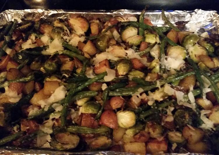 Roasted Vegetable Medly