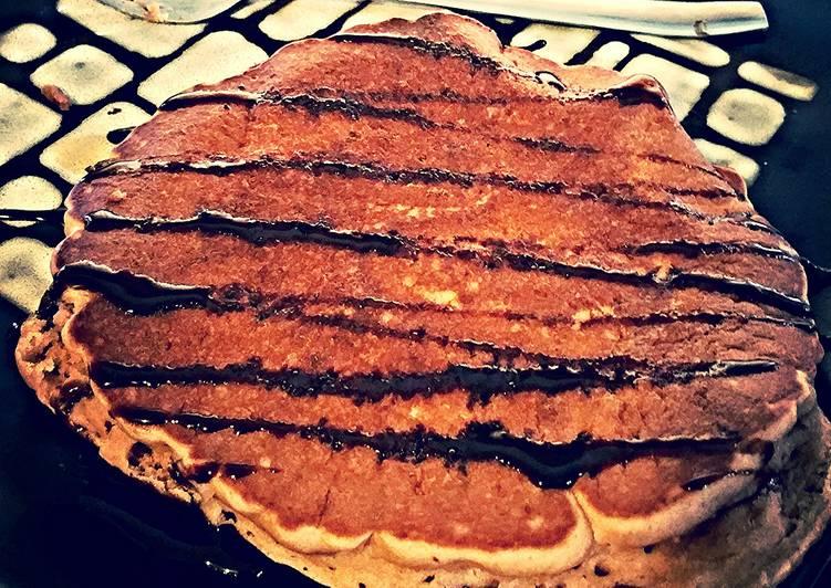 Simple Way to Prepare Homemade Protein pancakes!