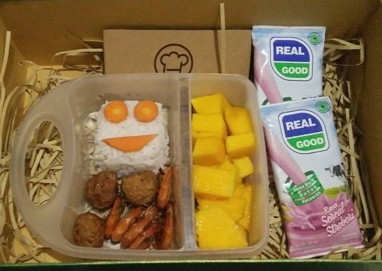 Tutorial membuat Nasi kotak 3 - Foody Bloggers