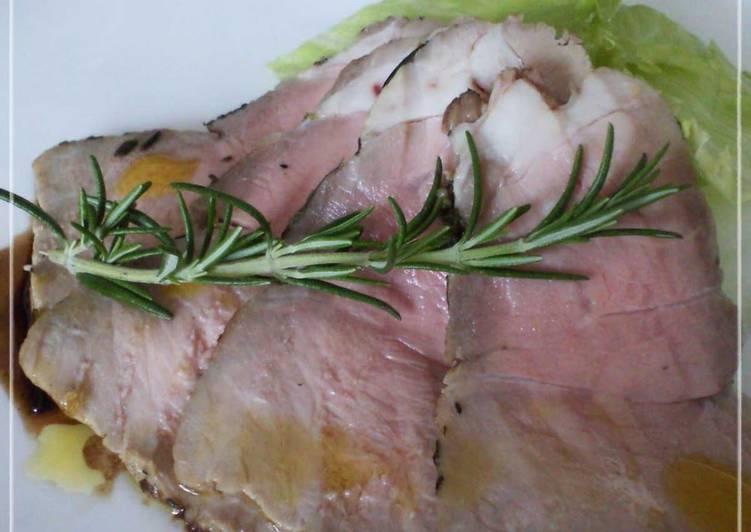 """Easiest Way to Make Appetizing Easy Tender """"Roast"""" Pork"""