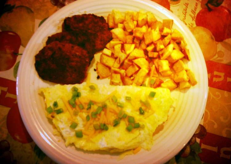 Recipe of Homemade Santa Fe egg omelet