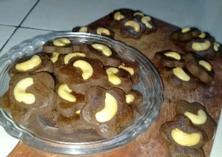 Choco Chasew Cookies