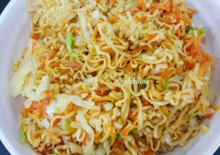 Resep Mi Goreng Vegetarian Paling Gampang