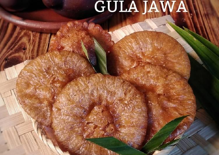 Resep Kue cucur gula jawa gampang
