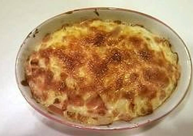 Tomato Gratin with Lots of Cheese