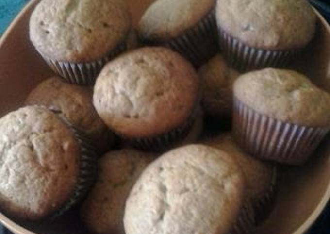 How to Make Yummy Easy banana bread cup cakes